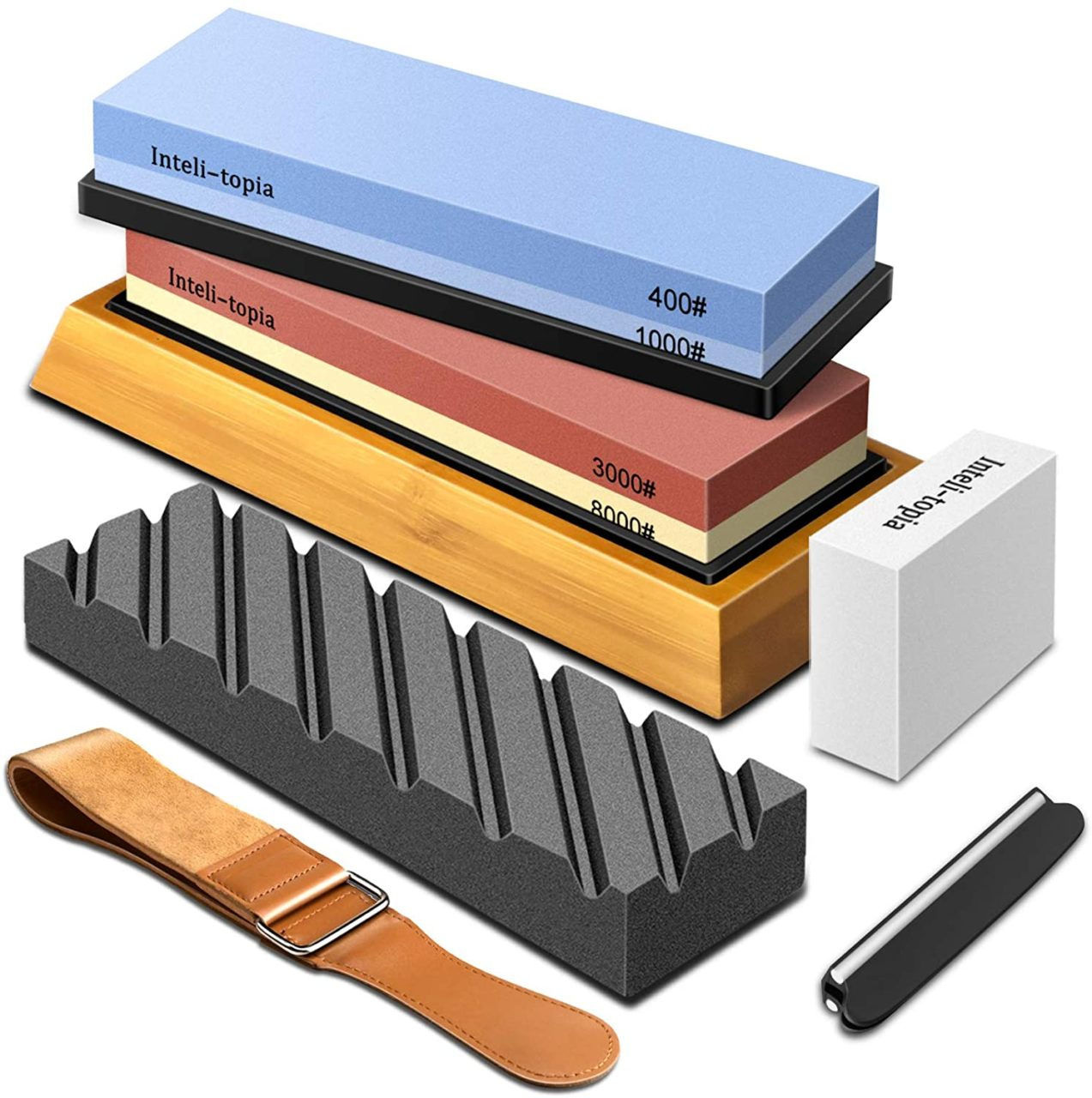 Best Sharpening Stone For A Carpet Knife - Intelitopia Knfie Sharpening Stone Set