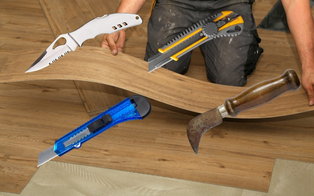 Best Utility Knife For Vinyl Flooring Featured Image