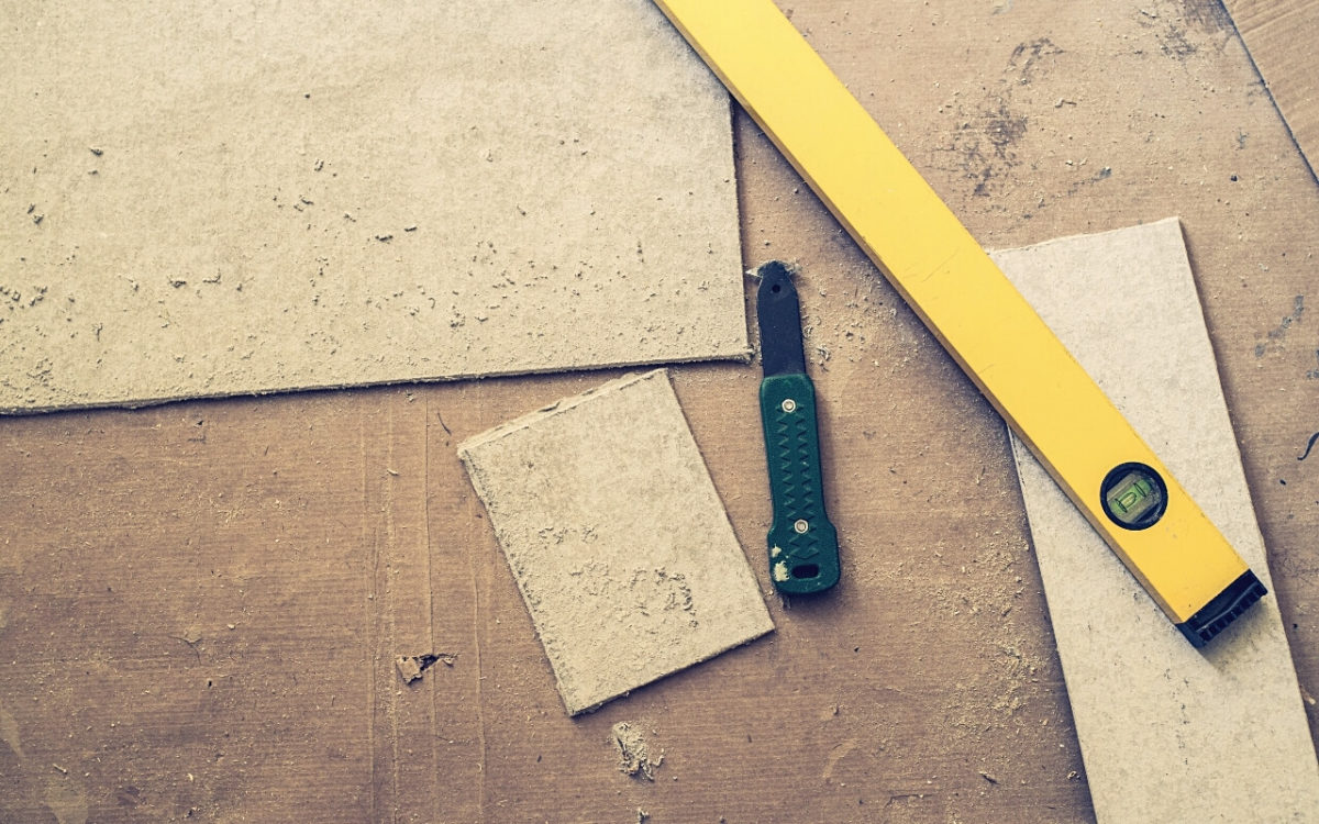 How To Cut Cement Board With A Utility Knife