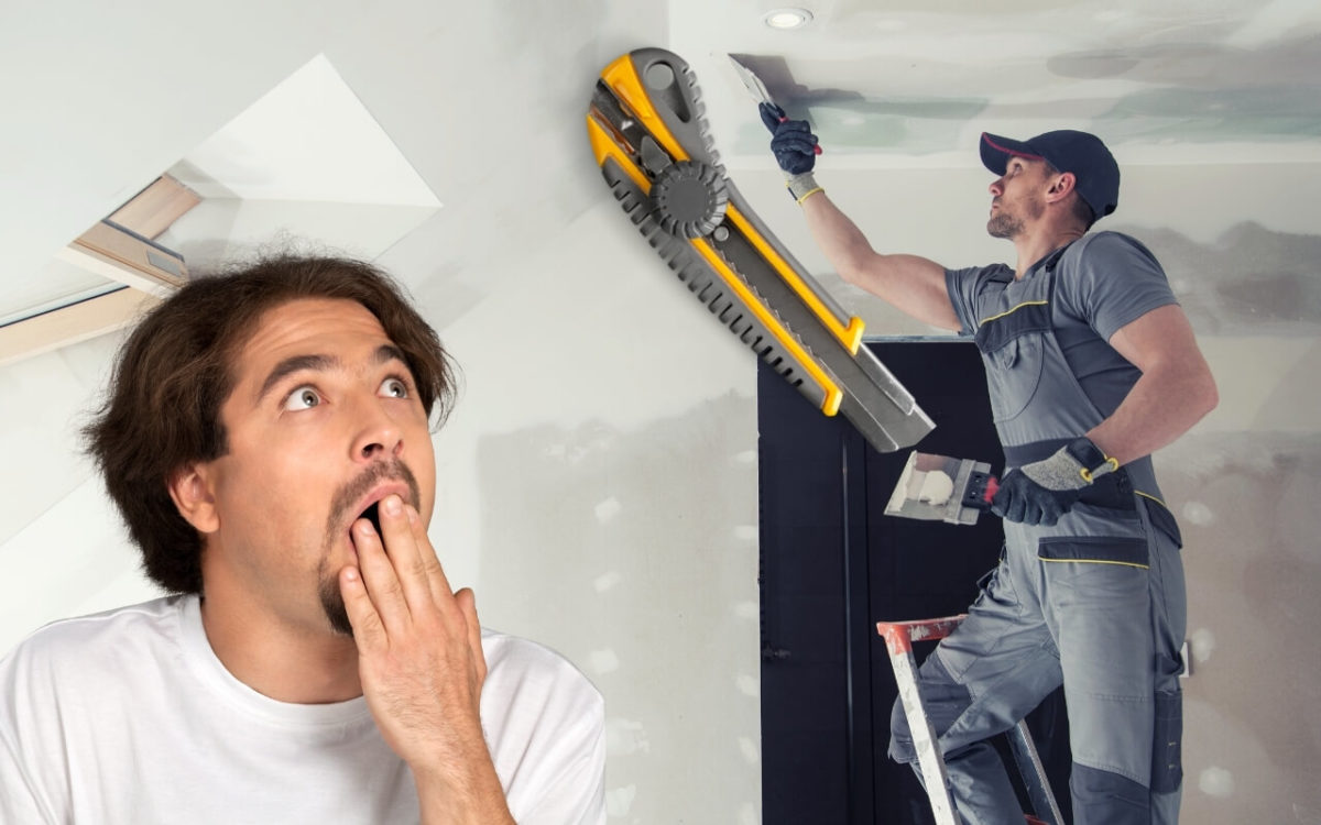How To Cut Drywall With A Utility Knife Featured Image