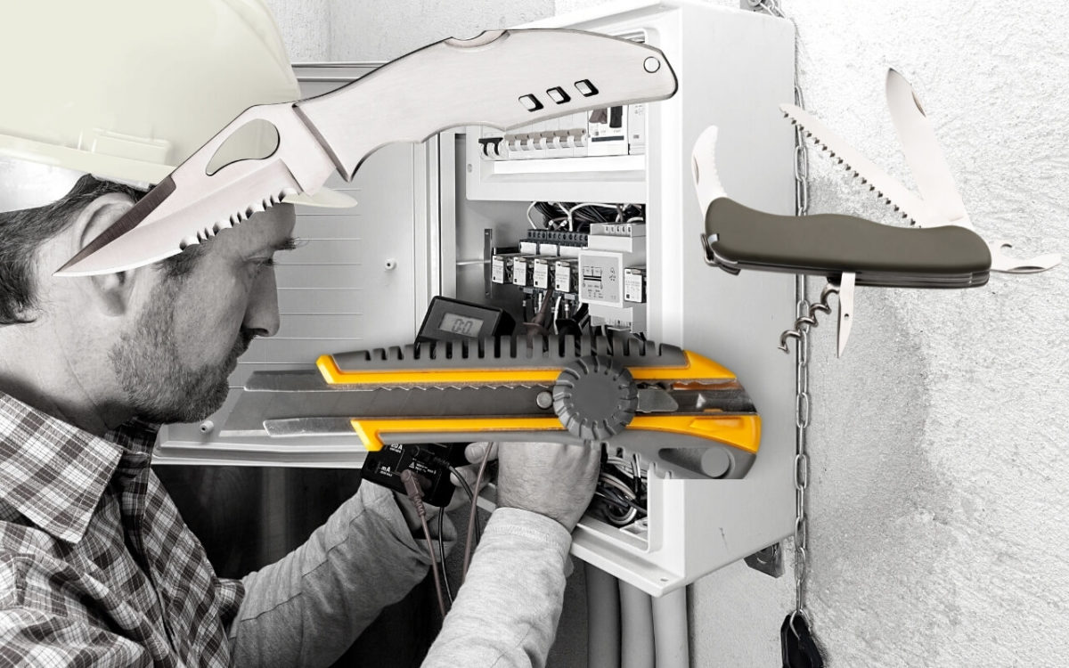 The Best Electrician Knife Featured Image